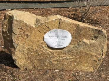 Pingree Park garden plaque